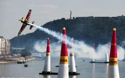 Aero modified EDGE 540 V3 at Red Bull Air Race