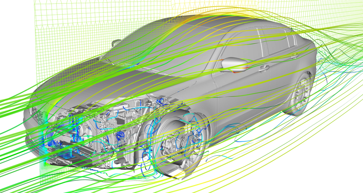 Automotive Cfd Simulation Bionic Surface Technologies Gmbh